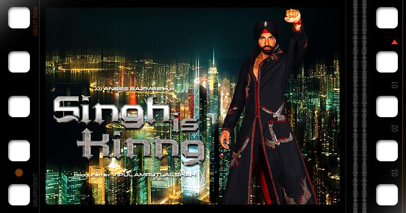 locandina del film bollywood Singh is King