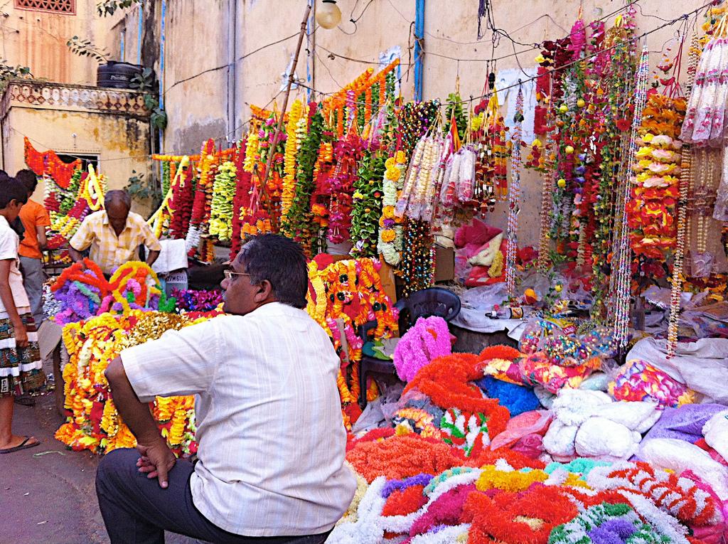Jaipur, i colori del commercio
