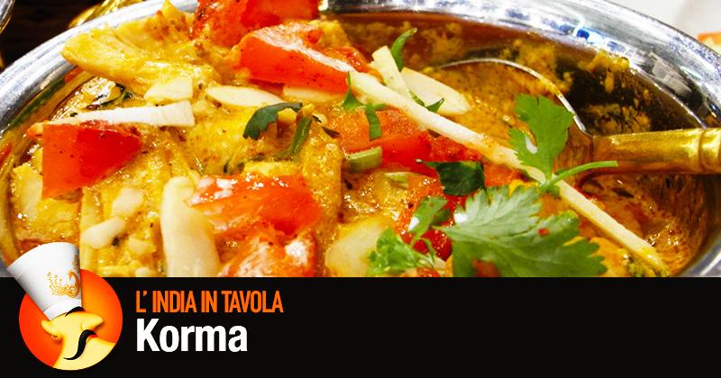 India in tavola: korma