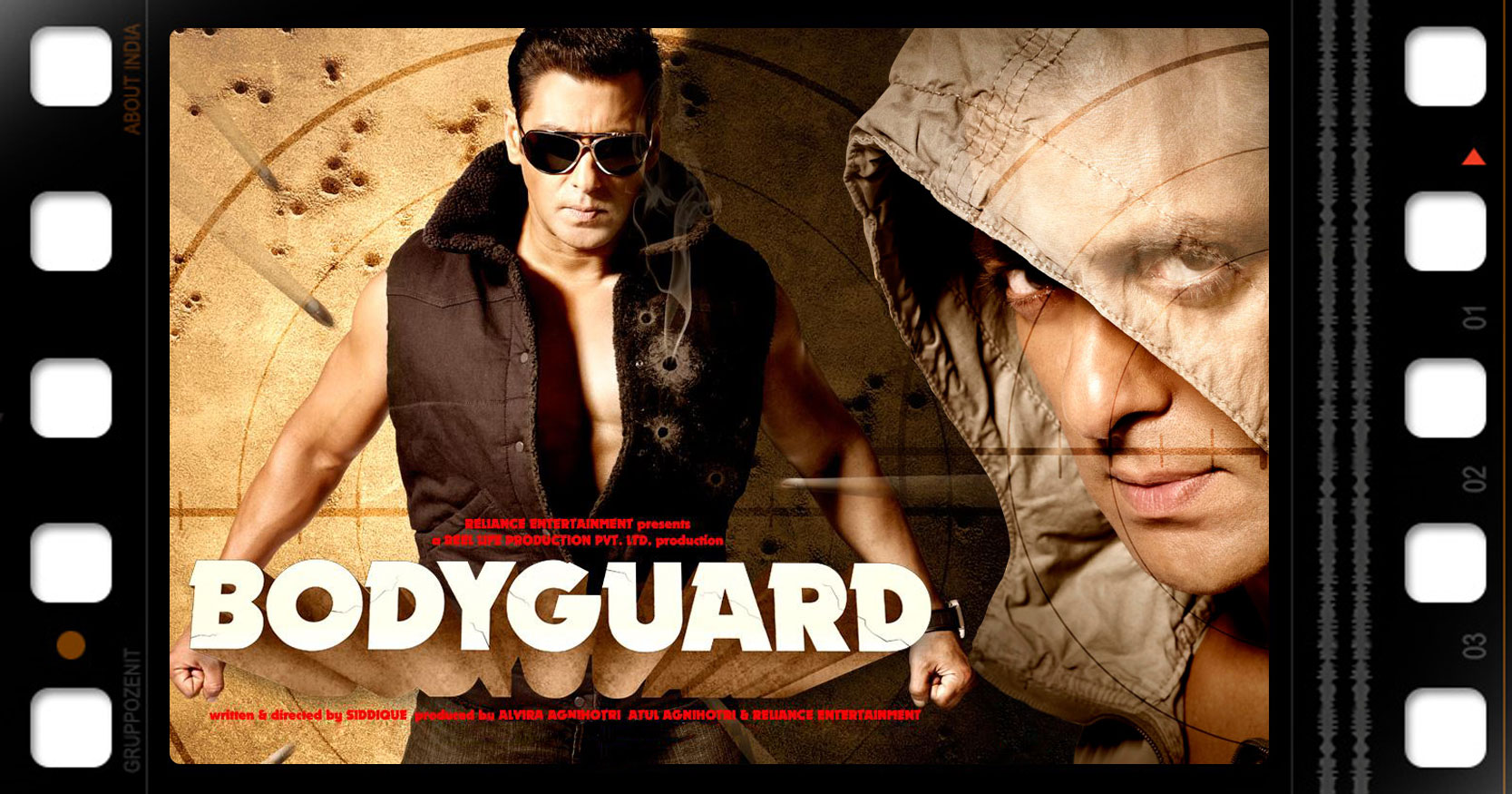 Poster del film body guard con salman khan