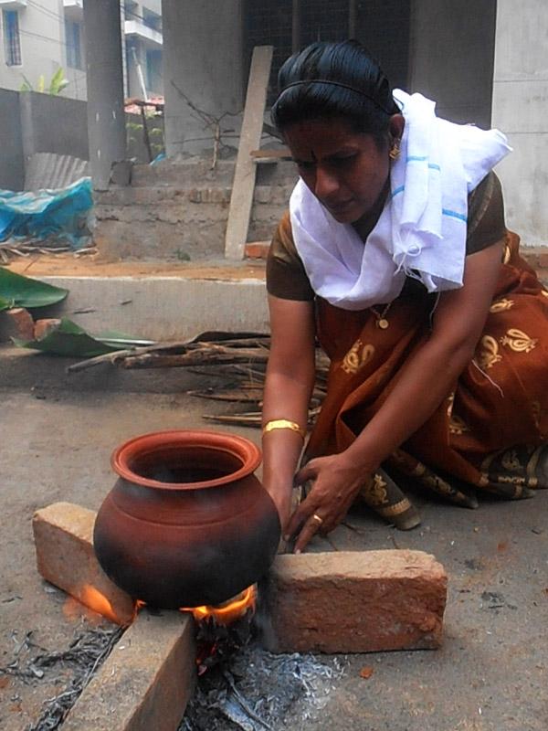 Pongala cerimony begins